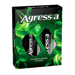 AGRESIA SET ŠAMPON+KR ZA BRIJ.ACTIVE