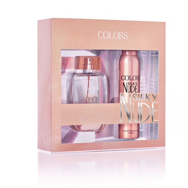 COLORS SET SILKY NUDE EDP+DEO