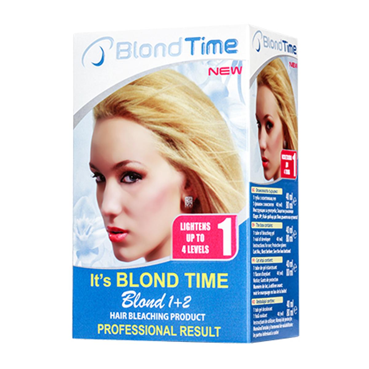 BLOND TIME Boja za kosu br1 1+2