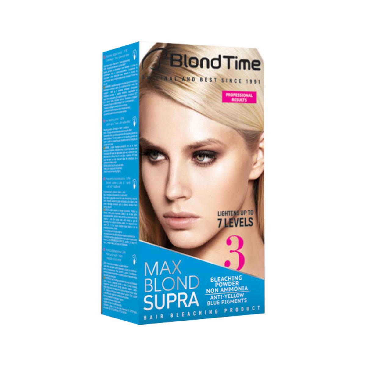BLOND TIME Boja za kosu br3 max blond