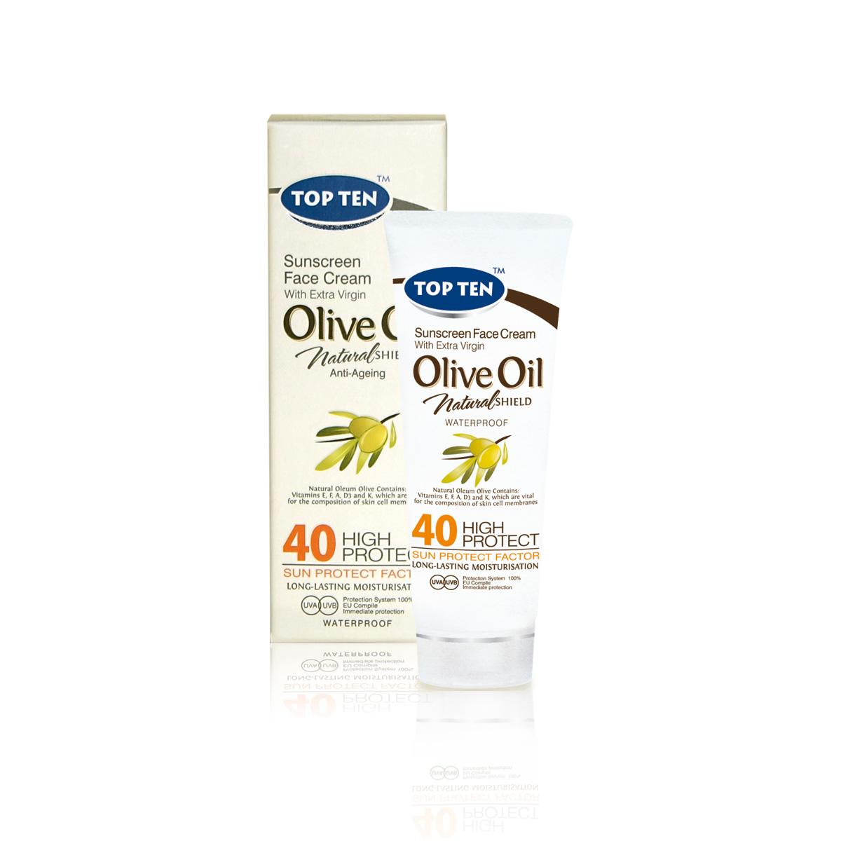 TT 1465 FACE MILK OLIVE OIL SPF40 50ml