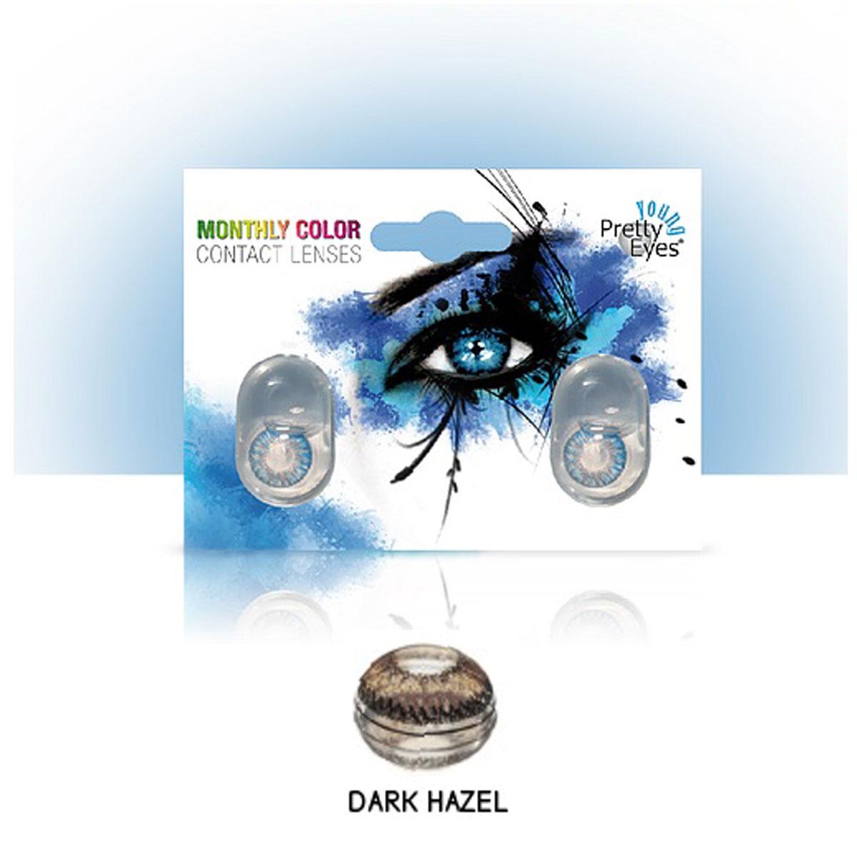 SOČIVA INTERVISUS COLOR  DARK HAZEL