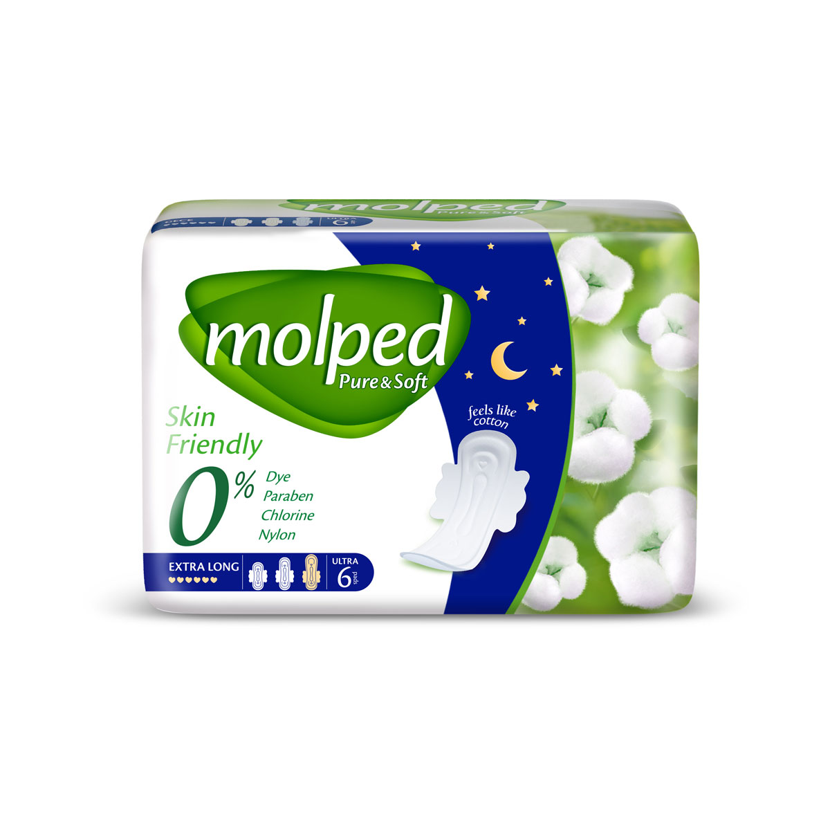 MOLPED PURE&SOFT NIGHT 6(24)