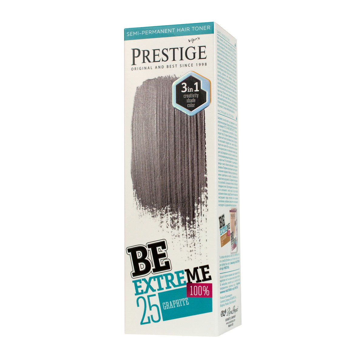 BE EXTREME HAIR TONER BR 25 GRAPHITE
