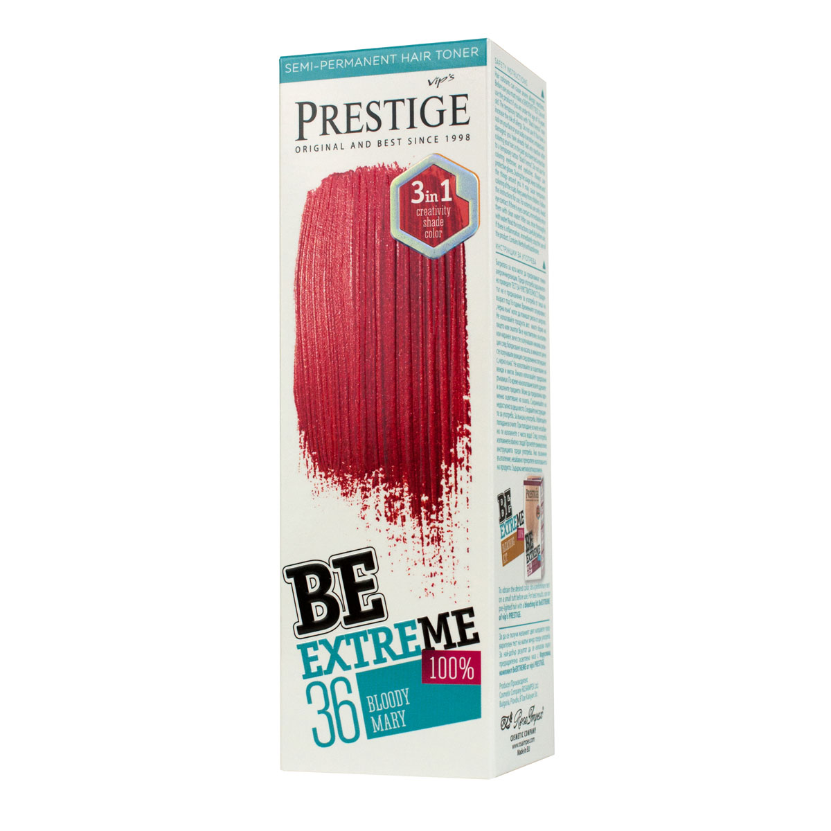 BE EXTREME HAIR TONER BR 36 BLOODY MARY