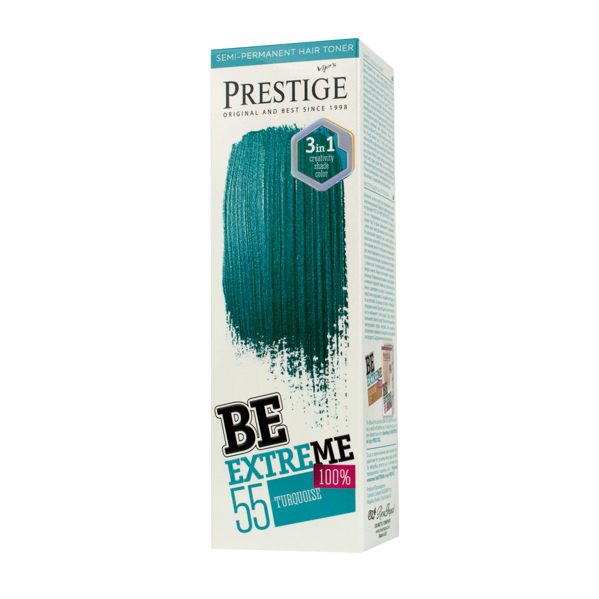 BE EXTREME HAIR TONER BR 55  TURQUOISE