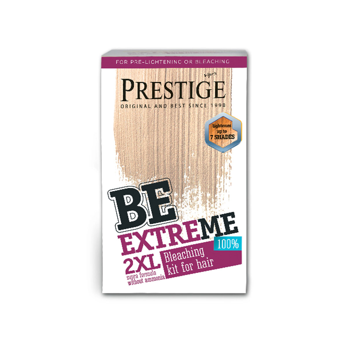 BE EXTREME HAIR TONER 2XL BLEACHING KIT