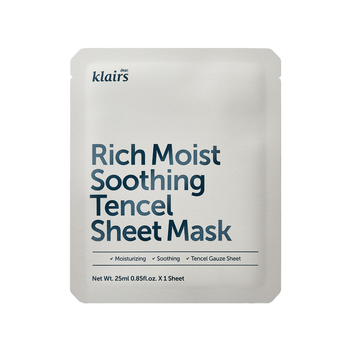 KLAIRS Rich Moist Sooting Tencel Sheet Mask