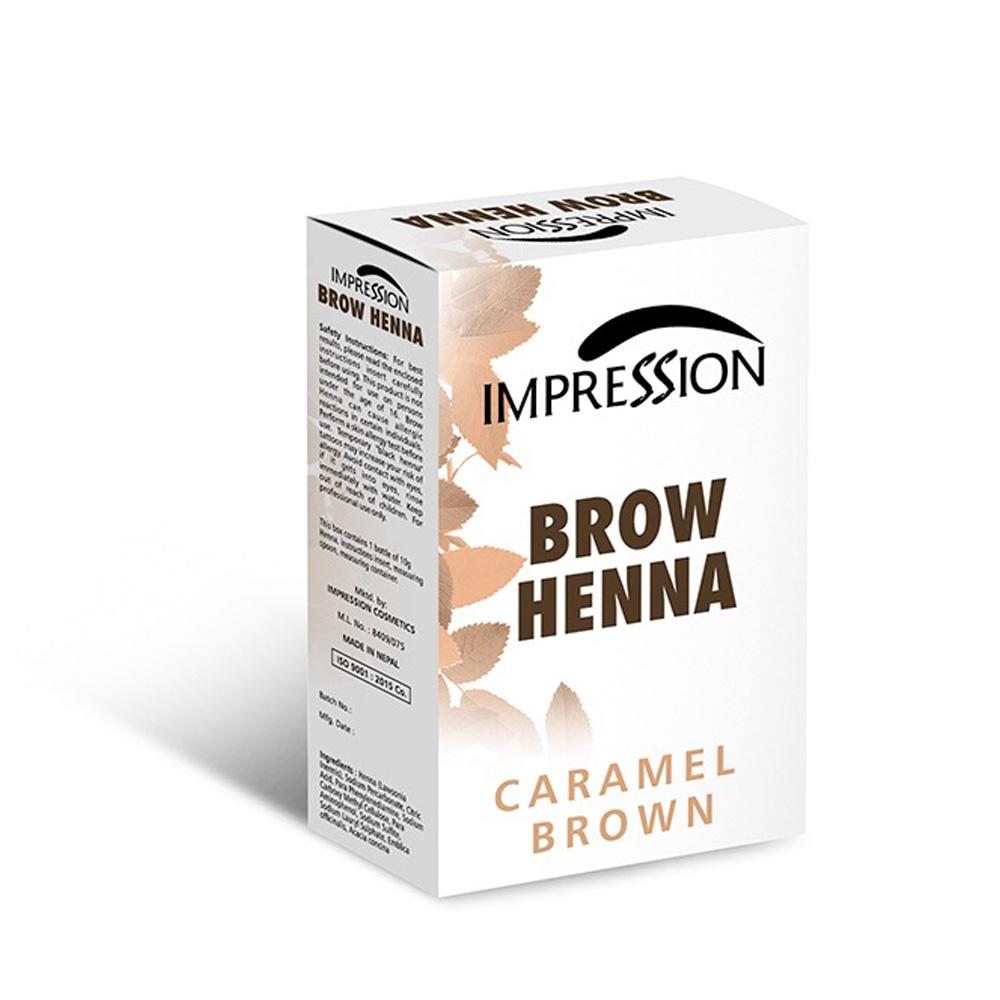 IMPRESSION BROW HENA CARAMEL BROWN 10g