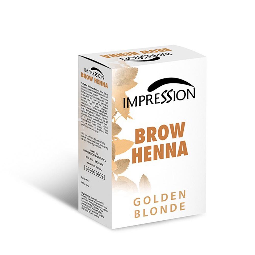 IMPRESSION BROW HENA GOLDEN BLONDY 10g