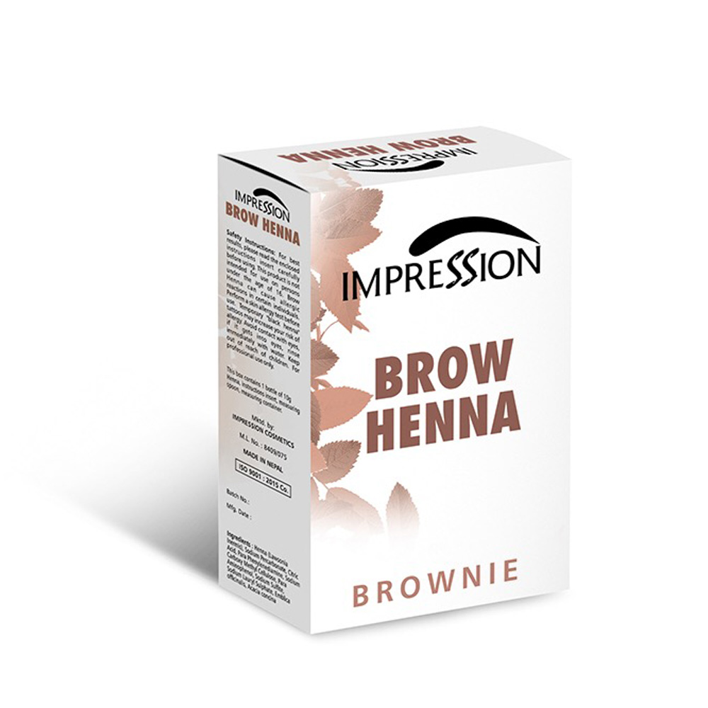 IMPRESSION BROW HENA BROWNY 10g