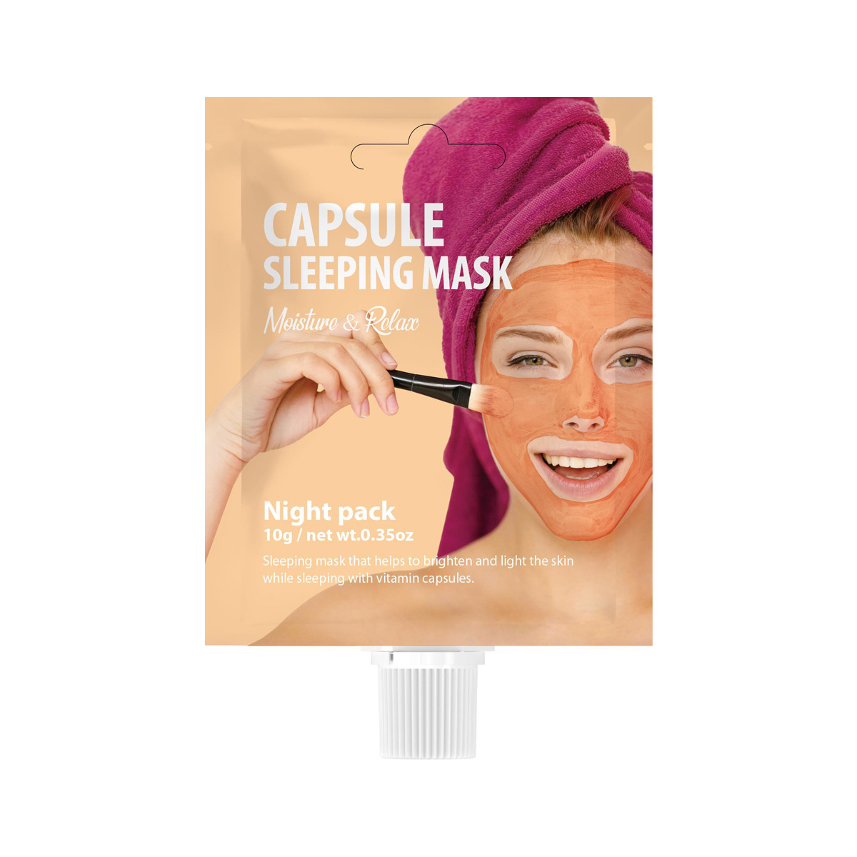 SHE'S LAB CAPSULE SLEEPING MASK 10g