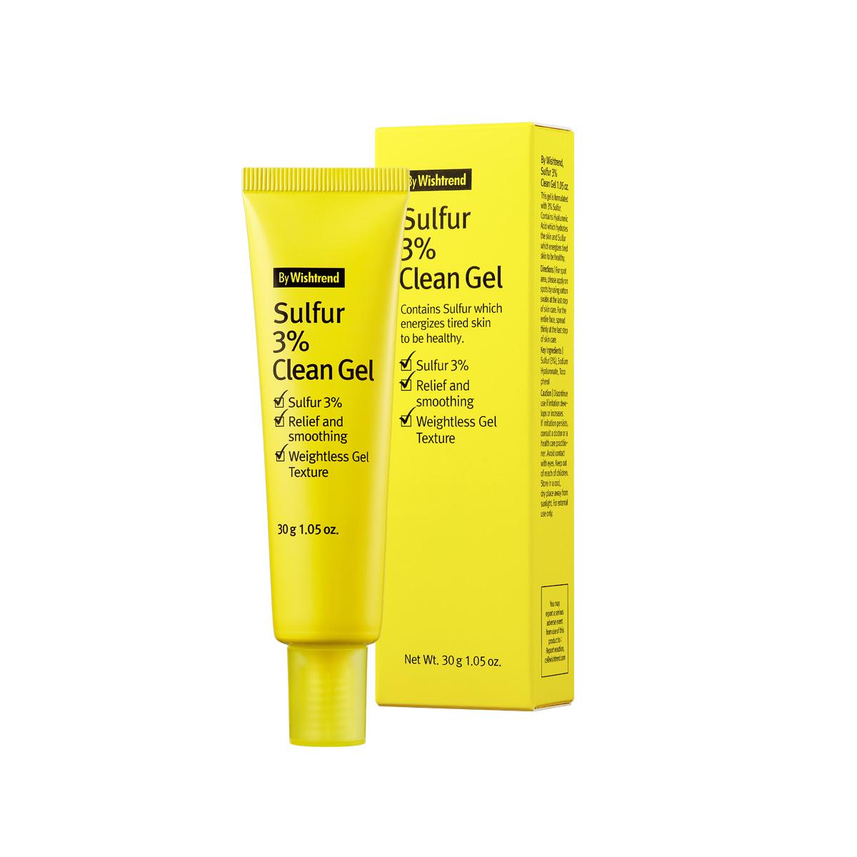 BY WISHTREND Sulfur 3% Clean Gel 30g