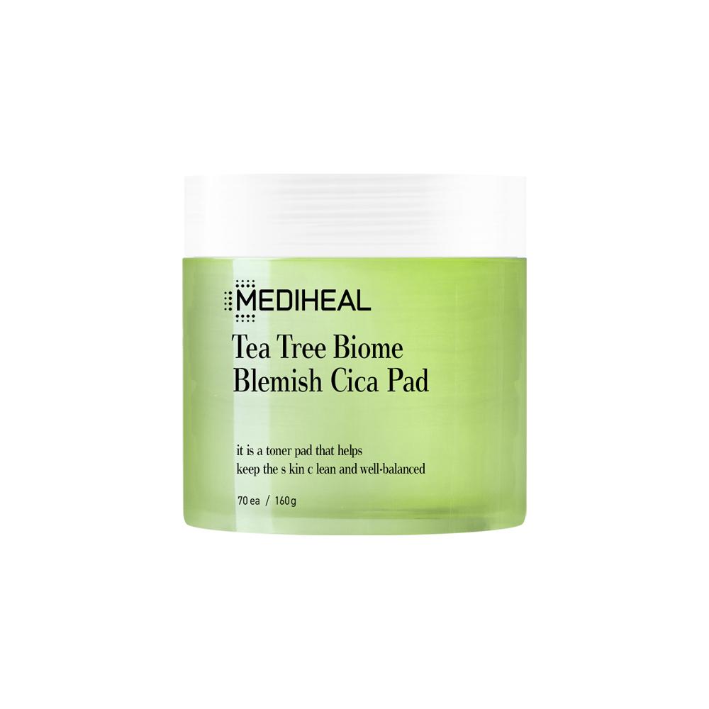 Mediheal Tea Tree Biome Blemish Cica Pad 70ea/170ml