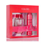 COLORS SET RED GLAM EDP+DEO