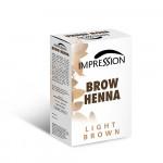 IMPRESSION BROW HENA LIGHT BROWN 10g