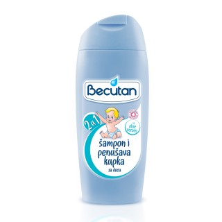 BECUTAN 2U1 KUPKA+SAMPON 350ML