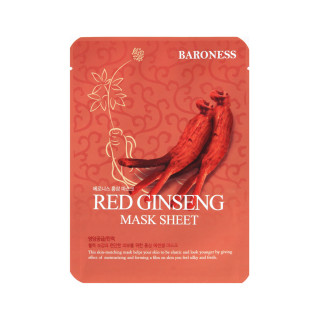 BARONESS RED GINSENG MASK SHEET žen šen