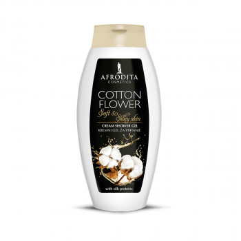 AF TUŠ CREAM GEL 250ml COTTON FLOWER