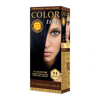 COLOR TIME 11 PLAVETNO CRNA  boja za kosu
