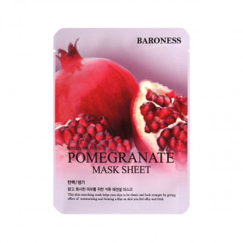 BARONESS MASK SHEET POMEGRANATE nar