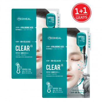 Mediheal Capsule100 Bio SeconDerm Clear 1+1 GRATIS