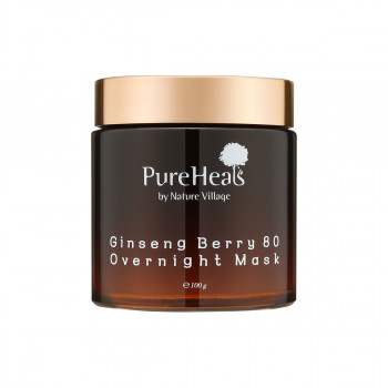 Pureheals Ginseng Berry 80 Overnight Mask 100ml