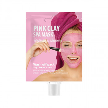 SHE'S LAB PINK CLAY SPA MASK 10g