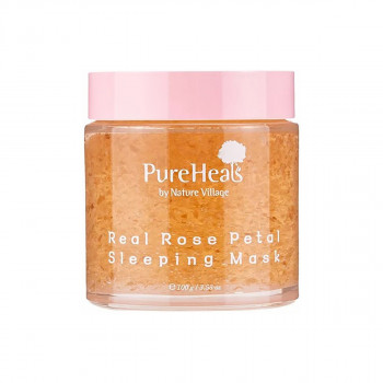 Pureheals Real Rose Petal Sleeping Mask 100ml