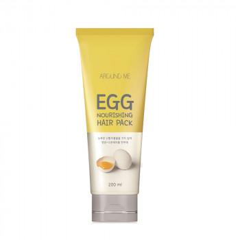 Around me Egg Nourshing Hair Pack