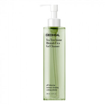 Mediheal Tea Tree Biome Blemish Cica Gel Cleanser 200ml