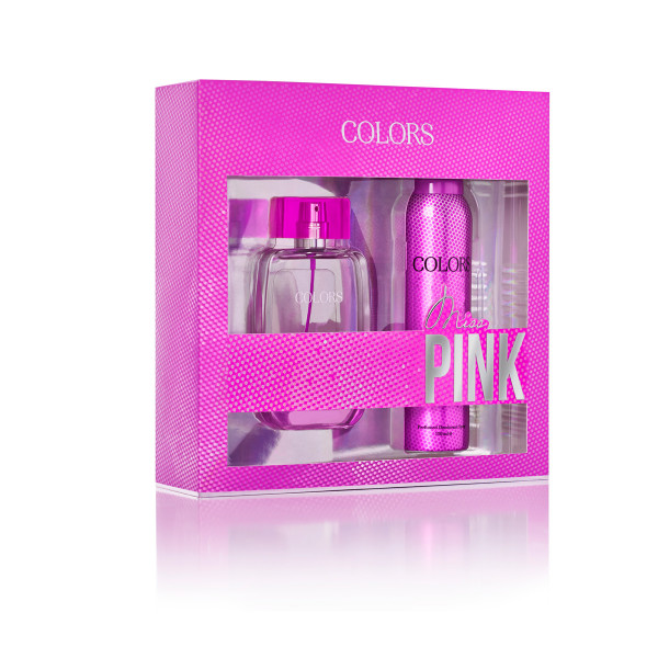 COLORS SET MISS PINK EDP+DEO