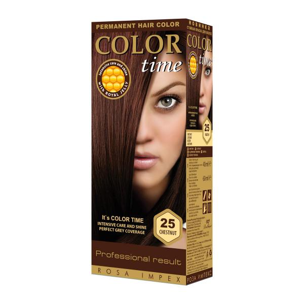 COLOR TIME 25 KESTEN boja za kosu