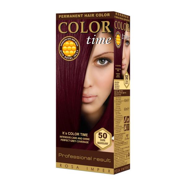 COLOR TIME 50 TAM. MAHAGONI boja za kosu