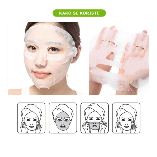 BARONESS MASK SHEET RED GINSENG žen šen