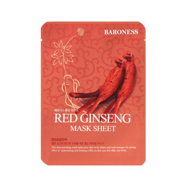 BARONESS RED GINSENG MASK SHEET crveni žen šen