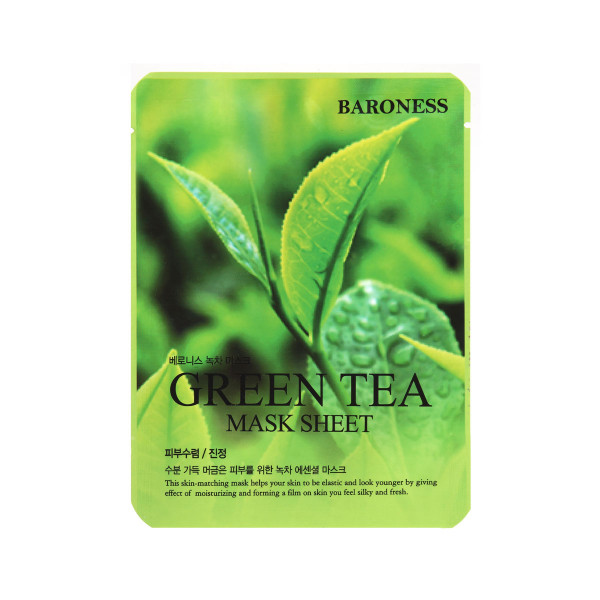 BARONESS MASK SHEET GREEN TEA