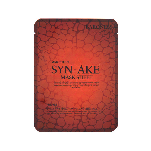 BARONESS SYN-AKE MASK SHEET