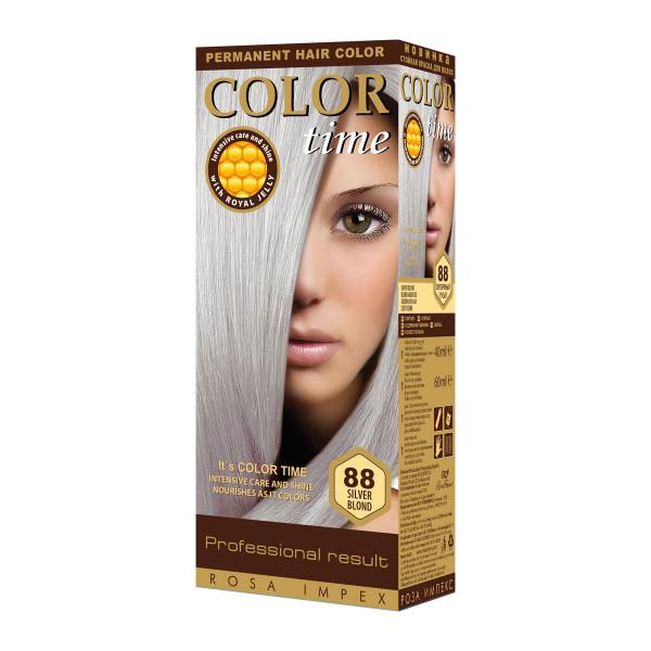 COLOR TIME 88 SILVER PLAVA boja za kosu