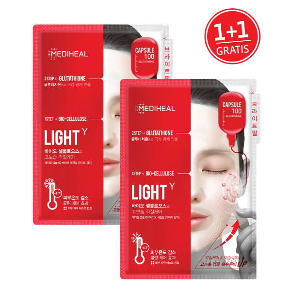 Mediheal Capsule100 Bio SeconDerm Light 1+1 GRATIS