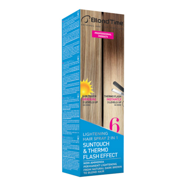 BLOND TIME Suntouch Hair Spray(6) NEW