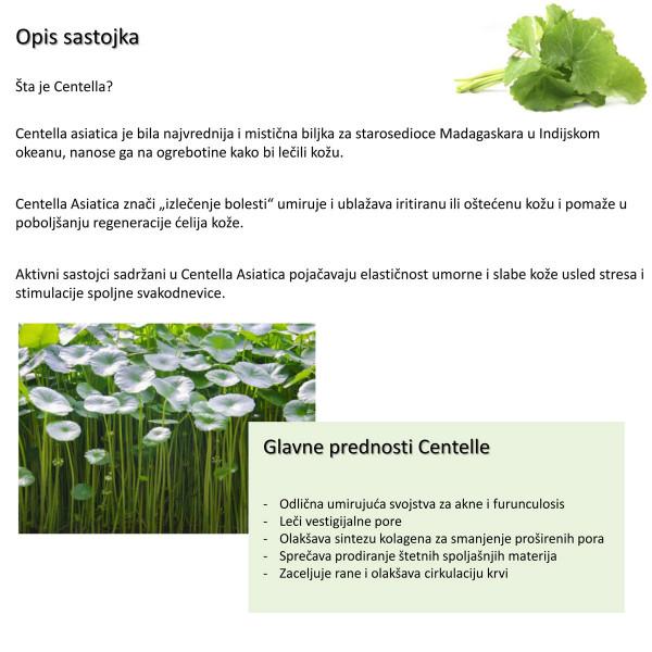 Pureheals Centella 65 Green Tea Pack 130gr