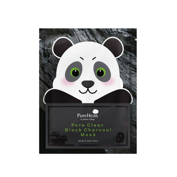 Pureheals Pore Clear Black Charocal Mask 25ml