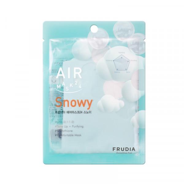 Frudia AIR Mask 24 Snowy 25ml