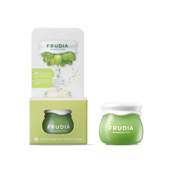 Frudia Green Grape Pore Control Cream Jar 10gr