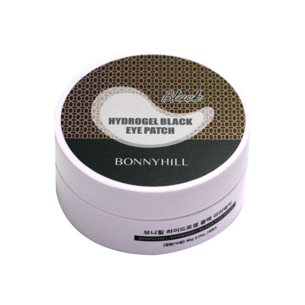 BONNYHILL HYDROGEL BLACK EYEPATCH