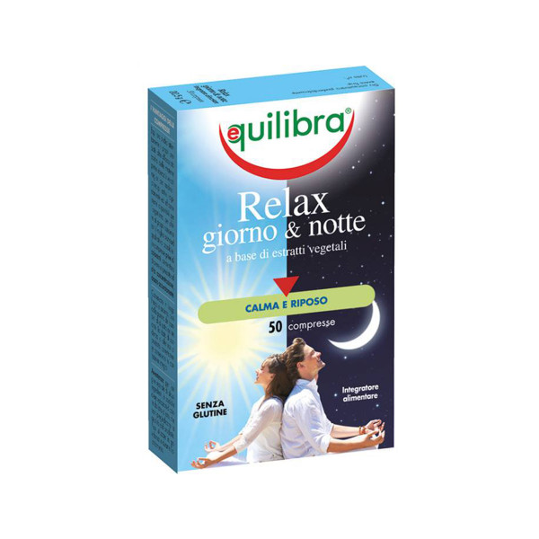 EQ RELAX DAY& NIGHT/GIORNO & NOTTE 50 TABS