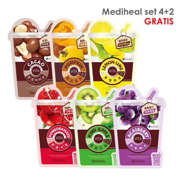 Mediheal Vita Mask SET 4+2 GRATIS