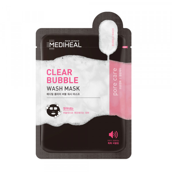 Mediheal Clear Bubble Wash Mask