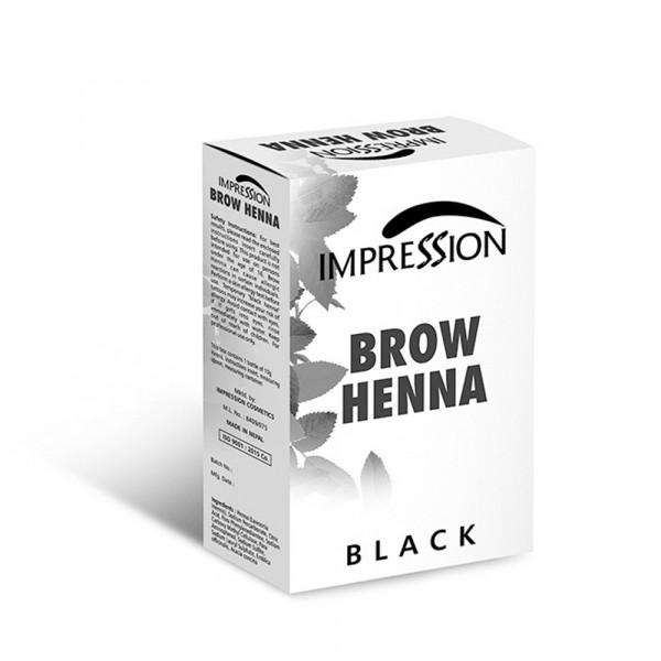 IMPRESSION BROW HENA BLACK 10g
